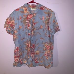 FLORAL button up!